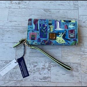 New Dooney and Bourke Haunted Mansion Wallet
